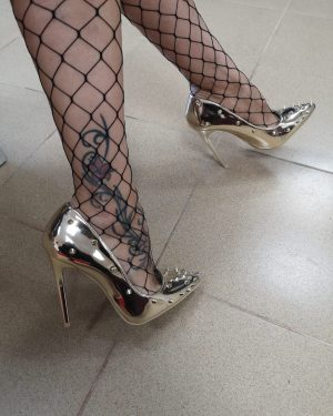 Обувка с ток Golden Thorn
