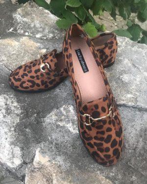 Мокасини Leopard