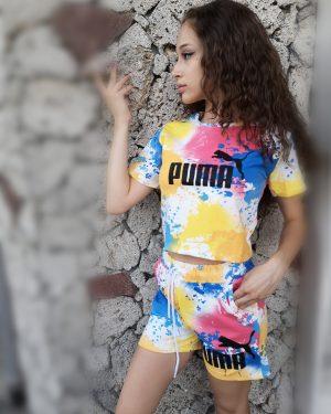 Спортен Комплект PUMA Лимон